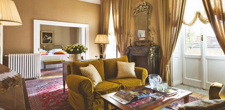 Grand Hotel Plaza Roma, executive suite