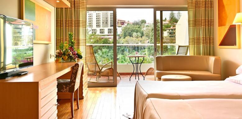 pestana carlton madeira, classic pool view room