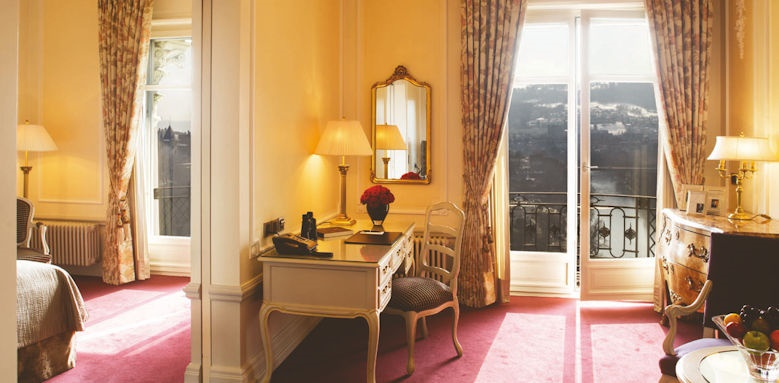 Bellevue Palace Bern, deluxe junior suite