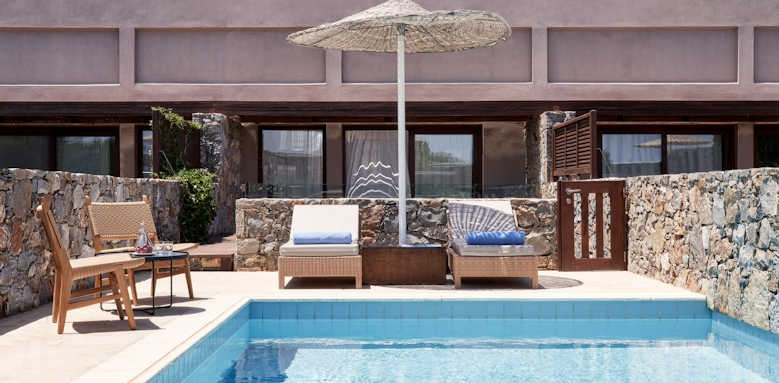 Blue Palace, Two Bedroom with private heated pool