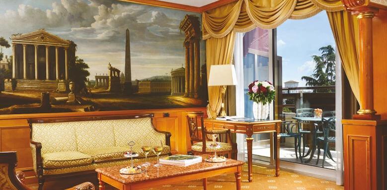 Parco Dei Principi Grand Hotel & Spa, junior suite with terrace
