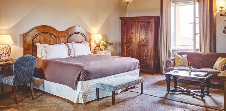 Belmond Castello di Casole, deluxe junior suite
