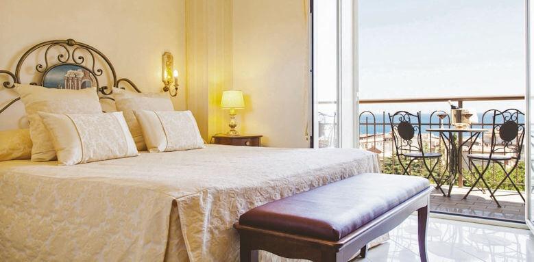 Diamond Resort Naxos Taormina, suite with sea view
