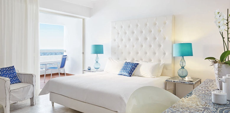 Grecotel White Palace, guestroom sea view