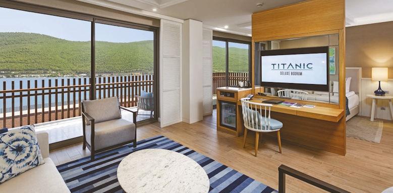 Titanic Deluxe Bodrum, deluxe suite