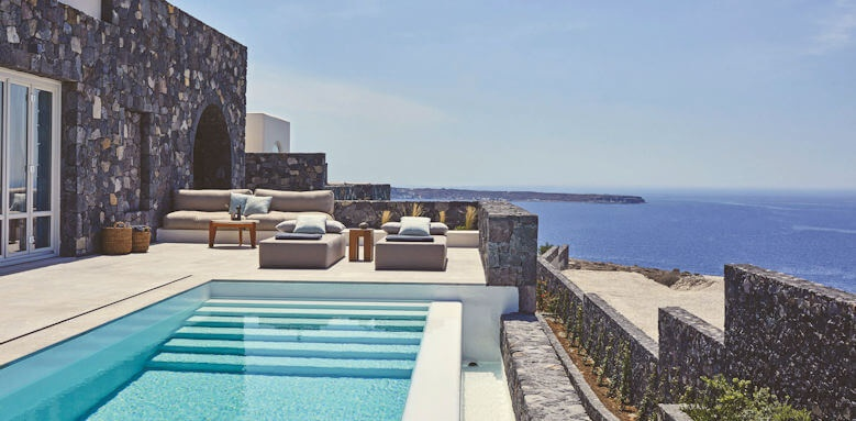 Canaves Oia Epitome, one bed pool villa
