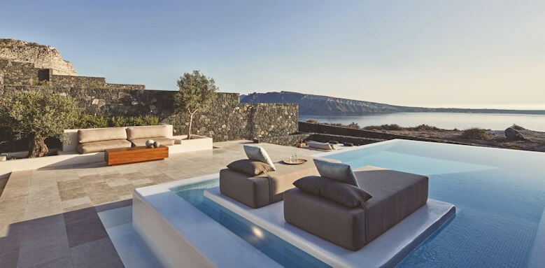 Canaves Oia Epitome, two bed pool villa