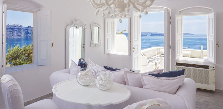 Canaves Oia Suites, presidential suite