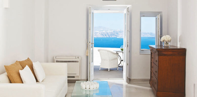 Canaves Oia Hotel, superior suite