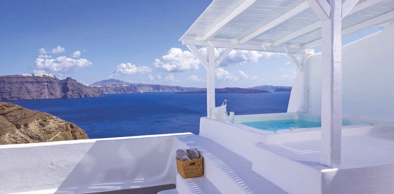 Canaves Oia Hotel, honeymoon suite