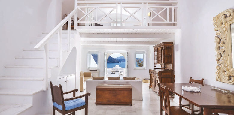 Canaves Oia Hotel, grand suite