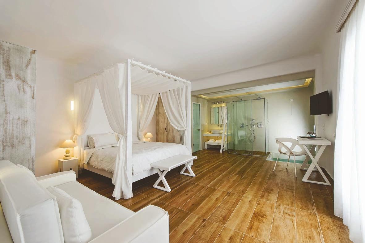 Cavo Bianco, honeymoon suite