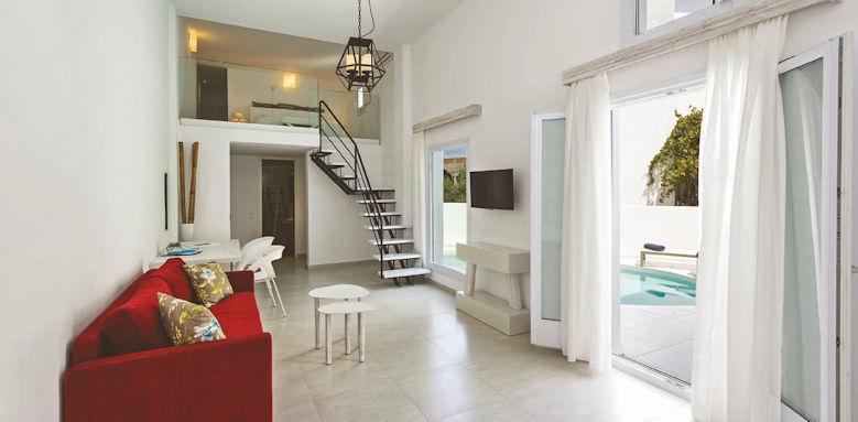 Cavo Bianco, pool suite
