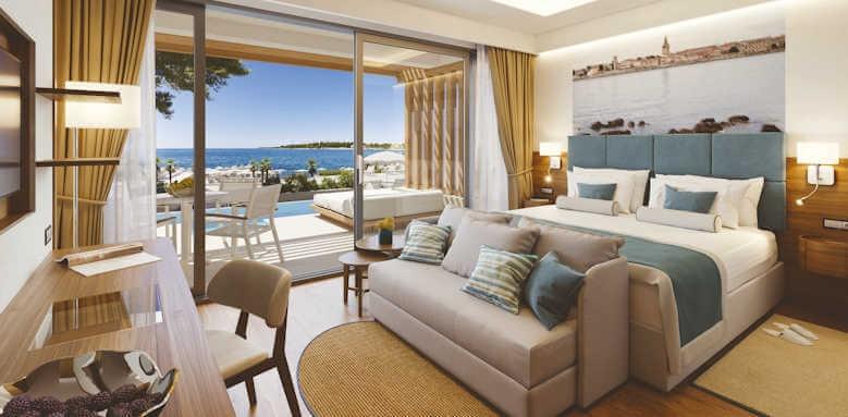 Valamar Collection Marea Suites, swim up suite