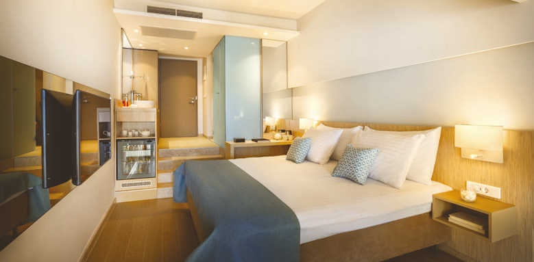 Valamar Collection Girandella Resort, premium family suite with terrace and sea view