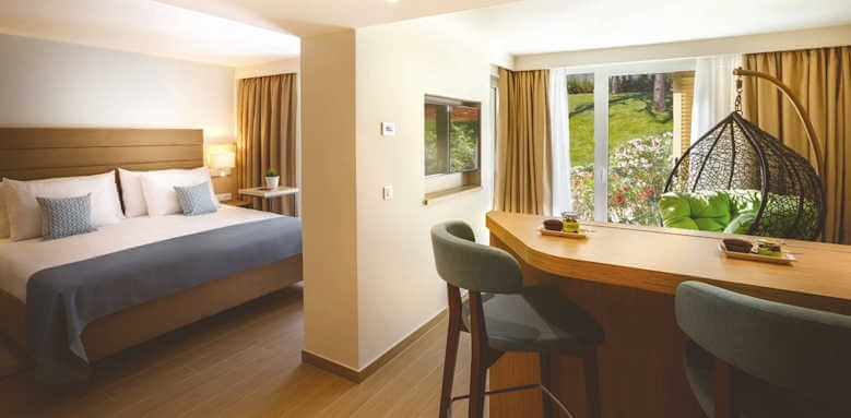 Valamar Collection Girandella Resort, junior suite with park view