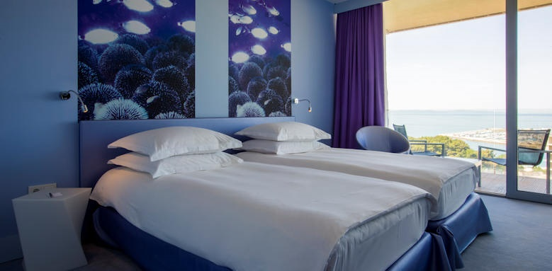 Radisson blue resort, superior room with sea view & balcony