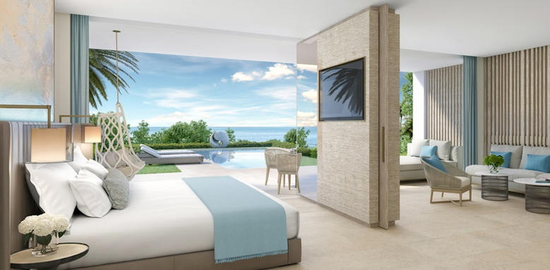 Ikos Andalusia, deluxe two bedroom suite with pool