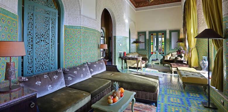 Riad Fes, royal suite
