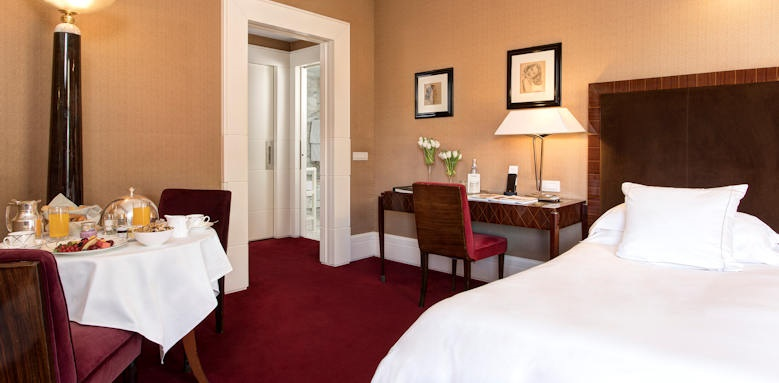 Hotel Lord Byron, junior suite balcony
