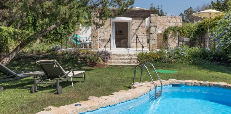 Grand Relais De Nuraghi, junior suite private pool