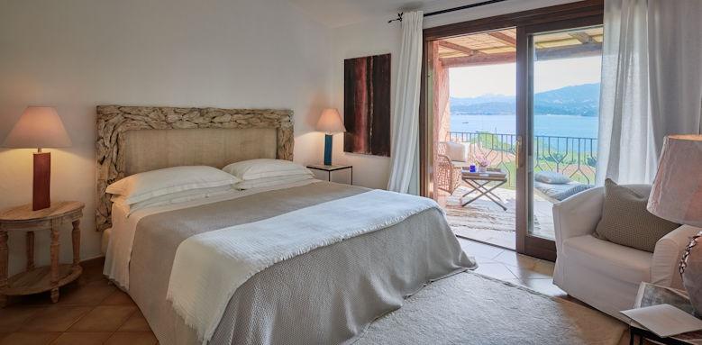 Villa del Golfo, charming sea view room