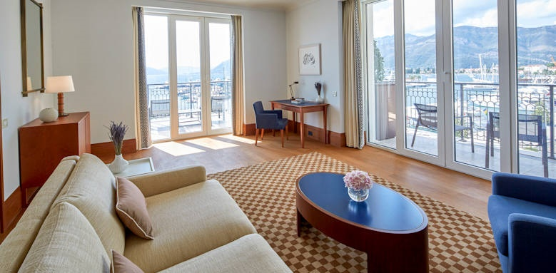 Regent Porto Montenegro, three bedroom suite venezia
