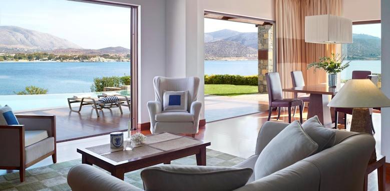 Grand Resort Lagonissi, belvedere suite