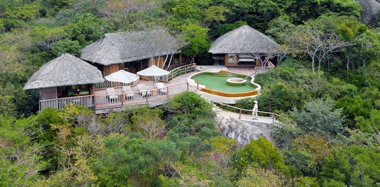 Six Senses Ninh Van Bay, hill top pool villa