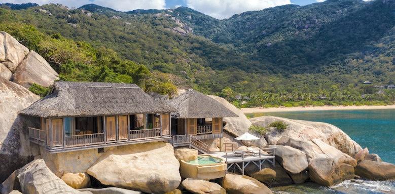 Six Senses Ninh Van Bay, rock pool villa