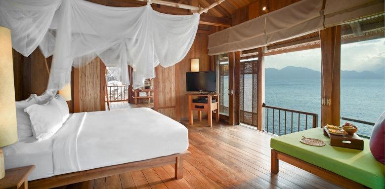Six Senses Ninh Van Bay, water pool villa