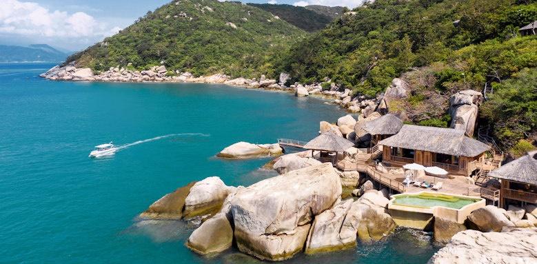 Six Senses Ninh Van Bay, rock retreat two bedroom villa