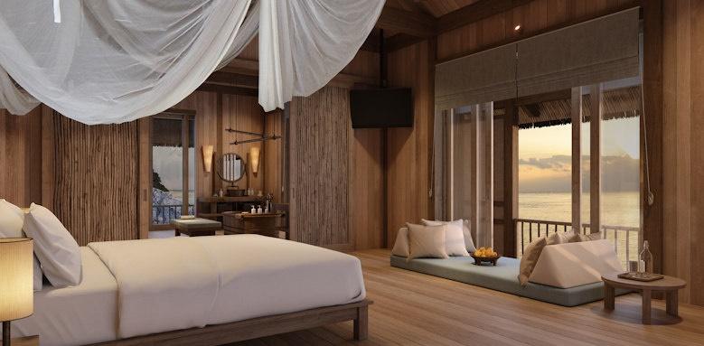Six Senses Ninh Van Bay, water retreat three bedroom villa