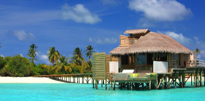 Six Senses Laamu, Lagoon water villa