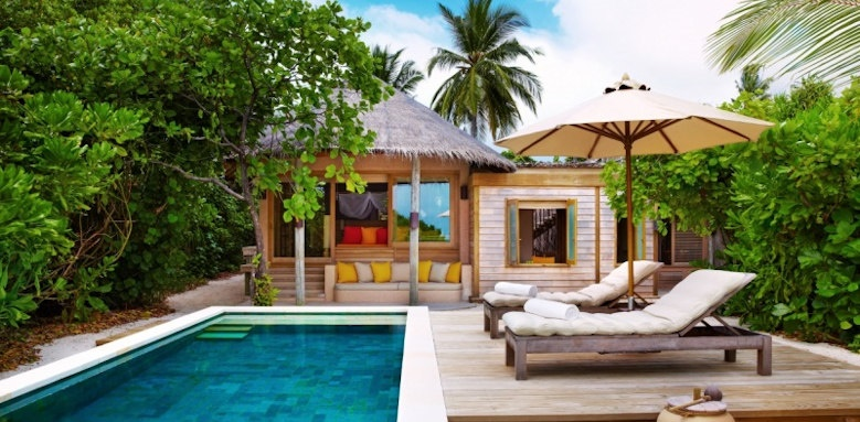 Six Senses Laamu, family villa with pool