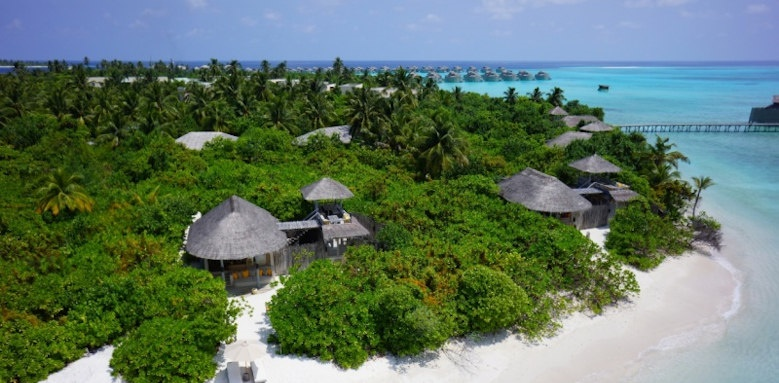 Six Senses Laamu, ocean beach villa