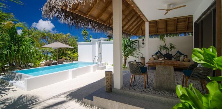 Finolhu, private pool villa