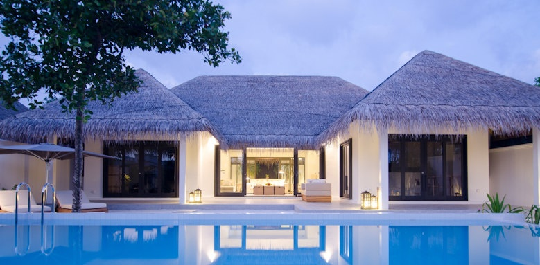 Finolhu, two bedroom beach pool villa