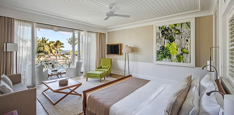 Heritage Le Telfair, sea view suite