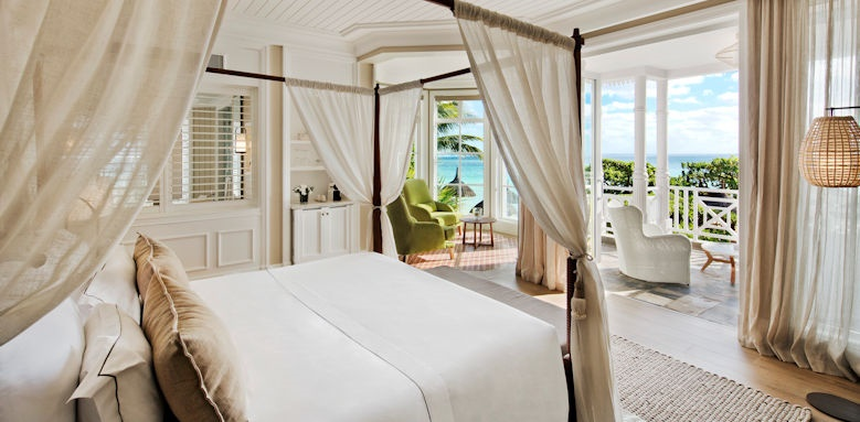 Heritage le telfair, junior suite beachfront