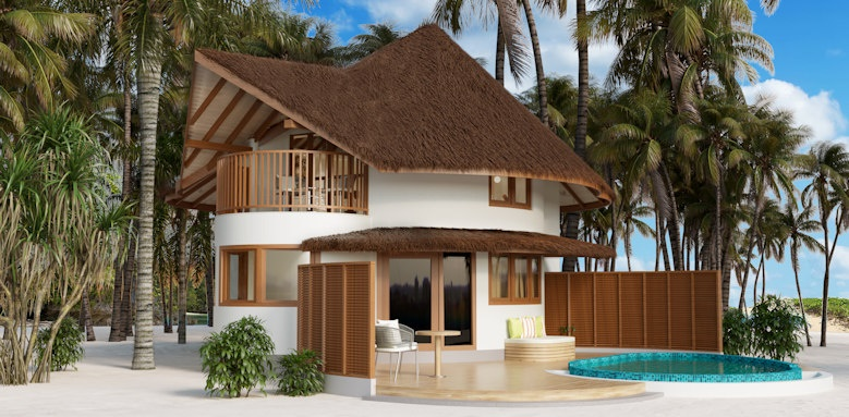 Cinnamon Dhonveli, beach suite with pool