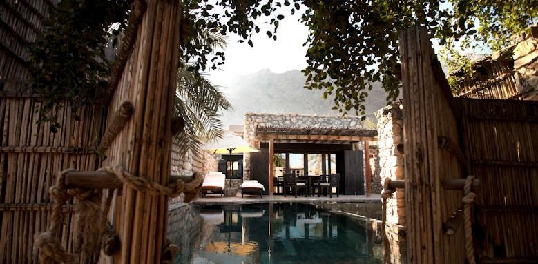 Six Senses Zighy Bay, pool villa