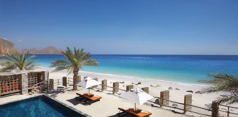 Six Senses Zighy Bay, Two bedroom beachfront retreat