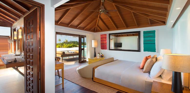 Anantara Veli Resort & Spa, over water bungalow