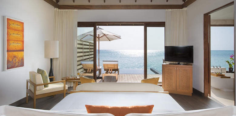 Anantara Veli Resort & Spa, deluexe over water pool bungalow