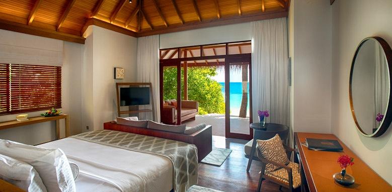 Baros Maldives, deluxe villa