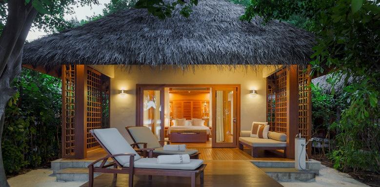 Baros Maldives, baros villa