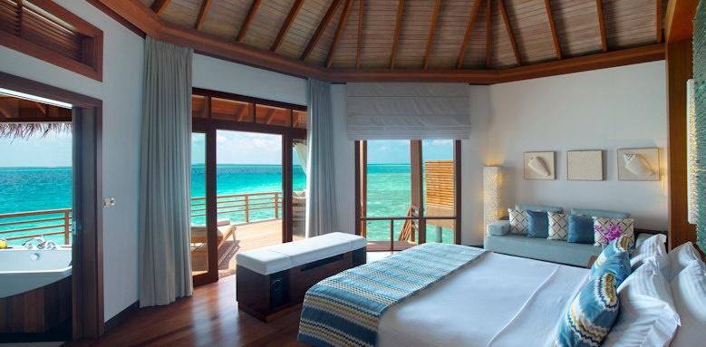 Baros Maldives, water villa