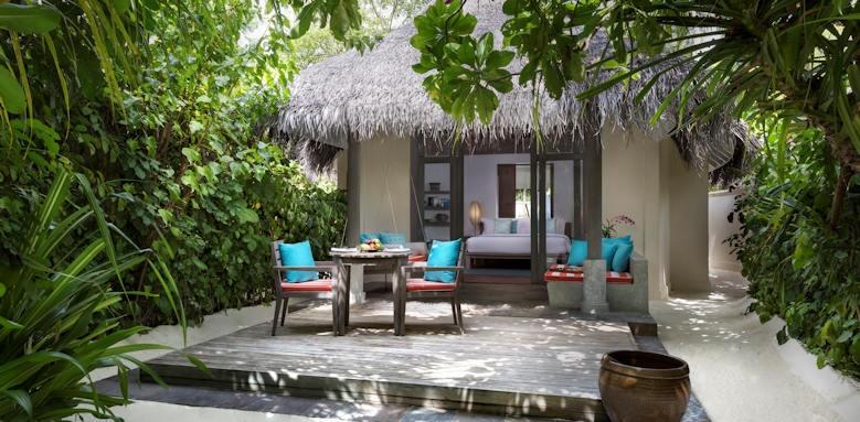 Anantara Dhigu Maldives Resort, sunset beach villa