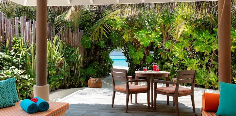 Anantara Dhigu Maldives Resort, two bedroom pool villa